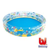 Bestway 海底世界三層充氣泳池