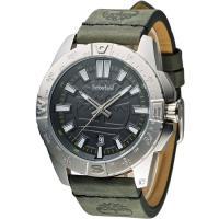 Timberland 探險潮流時尚休閒錶 TBL.14532JS/61 黑x綠