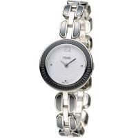 芬迪 FENDI MY WAY 經典美學時尚腕錶 F353024001 白x黑