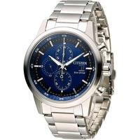 星辰 CITIZEN 急速豪傑光動能計時腕錶 CA0610-52L 藍