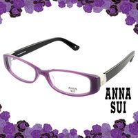 Anna Sui 安娜蘇 經典紫色花園造型眼鏡(紫色) AS501713