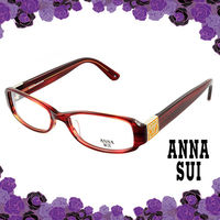 Anna Sui 安娜蘇 經典花園古典框造型眼鏡(古典紅) AS500206