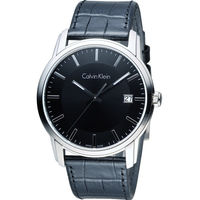CK Calvin Klein Infinite 紐約時尚腕錶 K5S311C1 黑