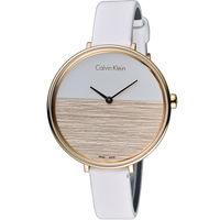 ck  Calvin Klein K7A rise 晨曦系列 時尚腕錶  K7A236LH 白