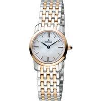 TITONI Slenderline 梅花錶超薄淑女腕錶 TQ42918SRG-587 雙色款