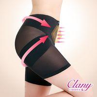 【可蘭霓Clany】美尻平腹機能M-2XL骨盆褲(神秘黑 1956-63)