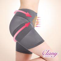 【可蘭霓Clany】美尻平腹機能M-2XL骨盆褲(優雅灰 1956-62)