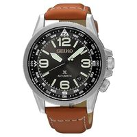 SEIKO精工 Prospex 空軍爭霸機械腕錶 黑x咖啡 42mm 4R35-01N0J SRPA75J1