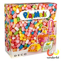 【Playmais 玩玉米創藝黏土】主題禮盒-粉彩裝飾