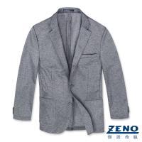 ZENO傑諾 精品舒適休閒西裝外套‧灰色
