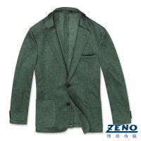 ZENO傑諾 精品舒適休閒西裝外套‧綠色