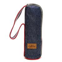 DF Queenin - 丹寧色系保溫保冷水壺提袋水壺套