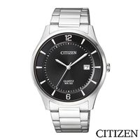 CITIZEN星辰 極致黑錶面商務男仕手錶  BD0041-89E