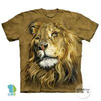 【摩達客】(預購)( 男童/女童裝)美國進口The Mountain 獅子王 純棉環保短袖T恤