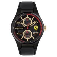 Scuderia Ferrari 法拉利 SPECIALE 日曆腕錶 黑 44mm 0830418