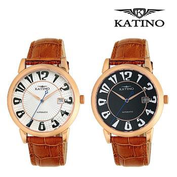 KATINO 卡帝諾 簡約時尚腕錶 K017MFR / K017WFR