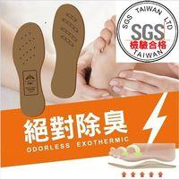 Moi 負離子震盪波高效除臭鞋墊(女) 6.5mm 舒適型