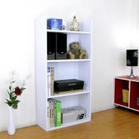 【頂堅】寬60公分(4層美背式)收納櫃/置物櫃/書櫃-素雅白色