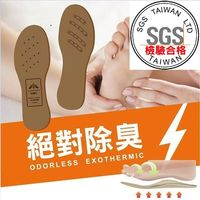 Moi 負離子震盪波高效除臭鞋墊(男) 6.5mm 舒適型