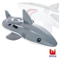 哈街 Bestway 巨型鯊魚254cm坐騎,助浮,浮排