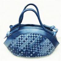 IKON皇室手工編織羊皮手提包-型(網)