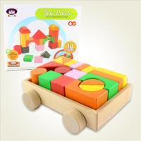【瑪琍歐玩具】拖車積木組