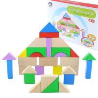 【瑪琍歐玩具】彩色城堡30片積木組