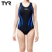 美國TYR Alliance Splice MaxBack 修身款連身泳裝-Royal藍 台灣總代理