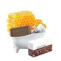 Olivos奧莉芙的橄欖 光澤保濕 蜂巢礦物橄欖皂250G