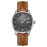 Hamilton Jazzmaster 雅士都會機械錶 灰x棕 44mm H32755851