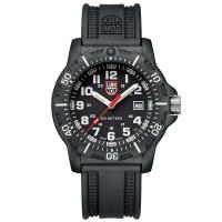 LUMINOX 雷明時Black Ops 8880黑夜行動系列腕錶-黑x白時標/45mm A8881