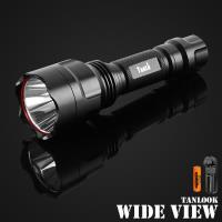 【WIDE VIEW】新一代L2大光圈遠射防水手電筒組(TL-C8-A)