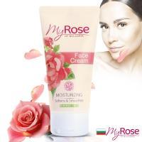 即期品保加利亞My rose玫瑰保濕亮澤面霜50mll-效期2019/12