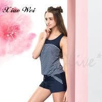 沙麗品牌 經典簡約時尚二件式泳裝 NO.17117
