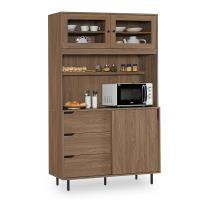 【時尚屋】[NM7]凱登4尺餐櫃NM7-206-1免組裝/免運費/餐櫃