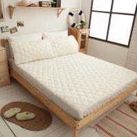 Ally 西崎 雙人床包式天然抗菌保潔墊