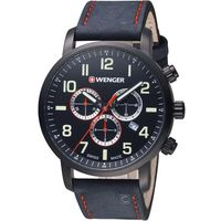 WENGER Attitude態度系列時尚主張三眼指針腕錶 01.1543.104