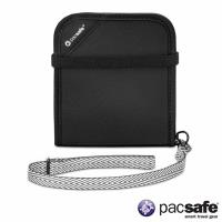 Pacsafe RFIDSAFE V100 防盜皮夾(黑色)(1380)