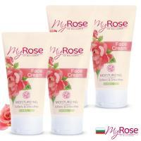 保加利亞My rose玫瑰保濕亮澤面霜50ml買三送一組(即期良品)