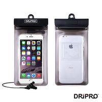 DRiPRO-4.7吋以下智慧型手機防水袋+耳機組
