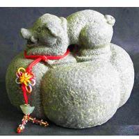 【開運陶源】秤心如意系列禮品--石塑造十二生肖.豬