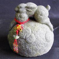 【開運陶源】秤心如意系列禮品--石塑造十二生肖.兔