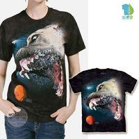 摩達客 美國進口The Mountain 水中比特大丹犬混血 純棉環保短袖T恤 預購