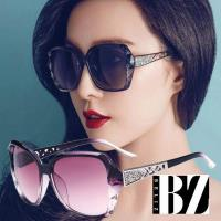 BeLiz鑽石菱格 鏤空雕花漸層墨鏡 三色可選