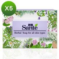 諾得Sante香草花園潤膚手工皂(90gx5個)
