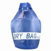 iSFun戲水專用 透明置物收納防水袋 藍