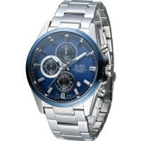 ALBA 雅柏 活力運動型男三眼計時腕錶 VD57-X081B  AM3345X1