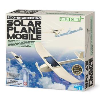 【4M】科學探索系列 - 日光飛行機 Solar Plane Mobile 00-03376