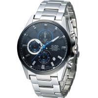 ALBA 雅柏 活力運動型男三眼計時腕錶 VD57-X081D  AM3343X1