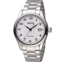 SEIKO 精工 PRESAGE 6R15領航者機械腕錶 6R15-03N0S 白 SPB035J1
